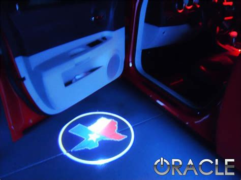 srt led door projector courtesy puddle logo lights mr