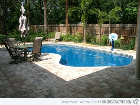 Backyard Pool Patio 15 Amazing Backyard Pool Ideas Home Design Lover