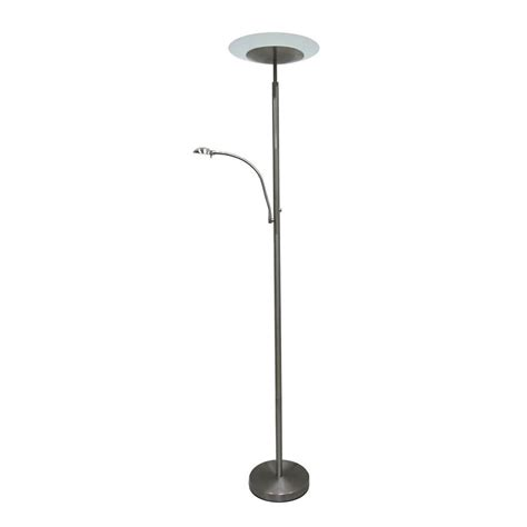 Home Depot Standing Ls by Illumine Designer Collection 71 In Steel Floor L Cli