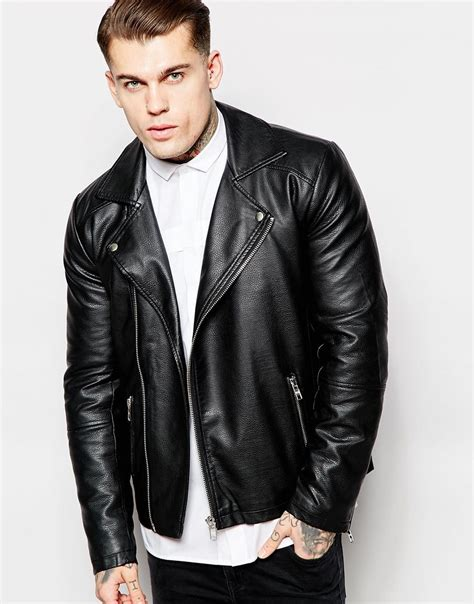 Jaket Biker Leather 7th Generation trendy biker jackets for 2017 and not only