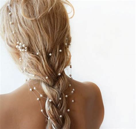 wedding hair accessories pearl wedding pearl headband pearl bridal hair wedding hair