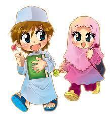 wallpaper kartun anak sholeh gambar kartun anak anak muslim sholeh mau mengaji
