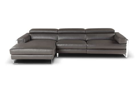 modern leather sectional with chaise modern sofa chaise modern sectional sofas thesofa
