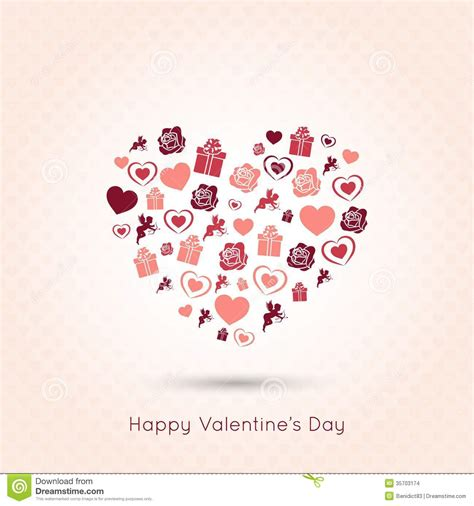 s day designs valentines day seamless design background stock