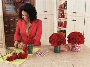 Candy Bouquet In A Vase Candy Cane Vase Youtube