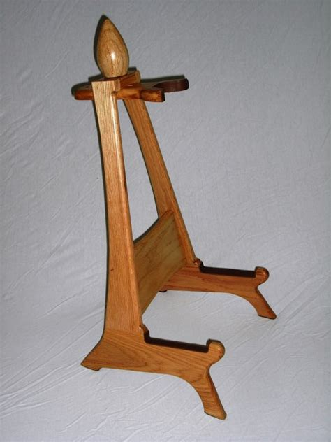 Wood Plans Guitar Stand