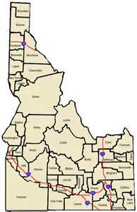 idaho towns map ghost towns of idaho