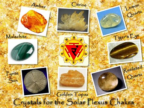 solar plexus crystals crystals for the solar plexus chakra by csillagrubin on