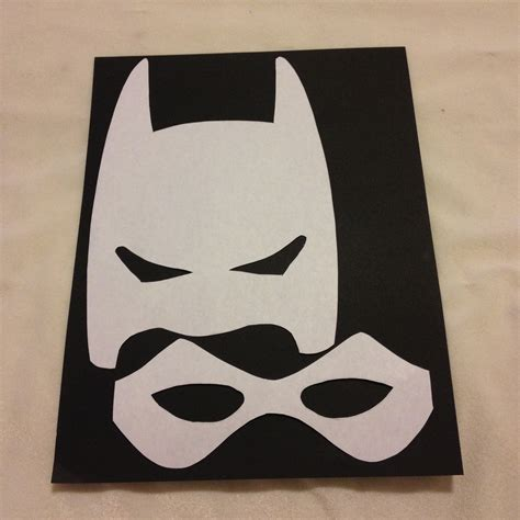 How To Make A Robin Mask Out Of Paper - robin mask outline www imgkid the image kid has it
