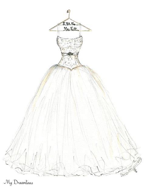 Wedding Sketch by Wedding Dress Sketches Designs Discount Wedding Dresses
