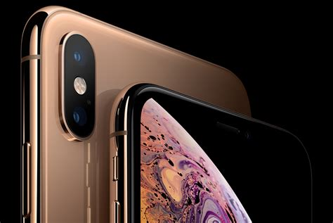 apple iphone xs xs max with oled hdr displays a12 bionic 7nm soc dual sim support announced