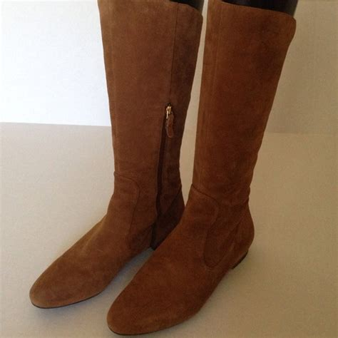via spiga via spiga v saddle suede boots sz8 from