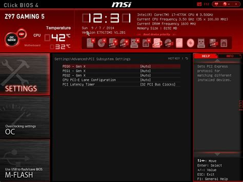 reset bios z97 gaming bios msi z97 gaming 5 motherboard review five is alive