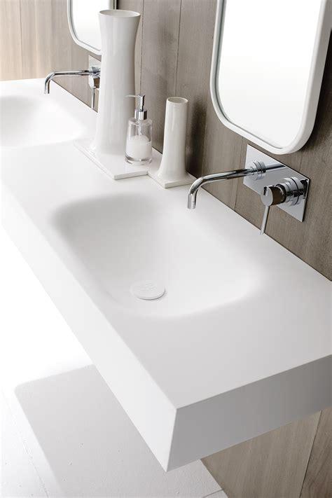 corian bad unico doppel waschbecken by rexa design design imago design