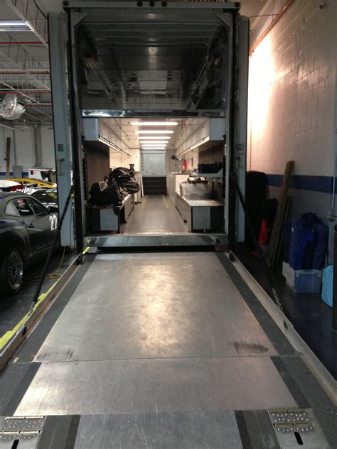 Tractor Trailer Interior by Four 4 Car Race Hauler For Sale Tractor Trailer