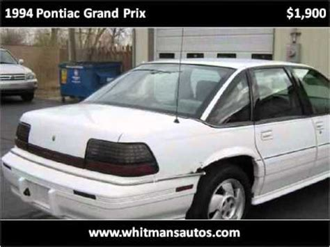manual repair autos 1994 pontiac grand prix spare parts catalogs 1994 pontiac grand prix problems online manuals and repair information