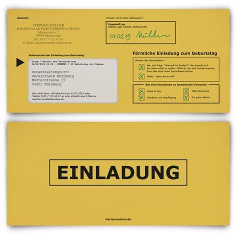 Offizieller Brief Einladung Einladungskarten Zum Geburtstag F 246 Rmliche Zustellung Einschreiben Mahnbescheid