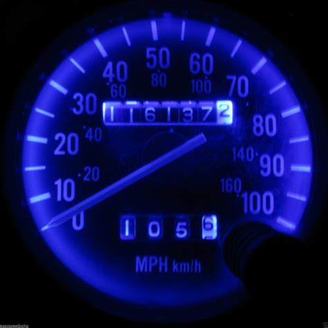 jeep wrangler speedometer jeep wrangler yj 1987 1995 blue led asap speedo
