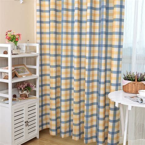 cheap plaid curtains online get cheap red plaid curtains aliexpress com