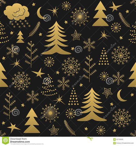 christmas pattern gold seamless christmas pattern gold stock photo image 62759595