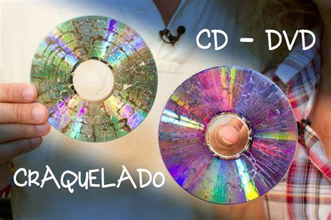 como hacer adornos de cds navide241os cd o dvd craquelado para bisuteria o decoracion