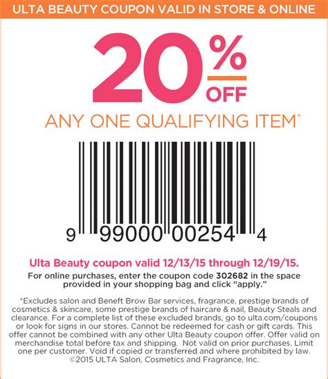 ulta coupons promos coupon codes 2015 retailmenotcom ulta coupon codes may 2018