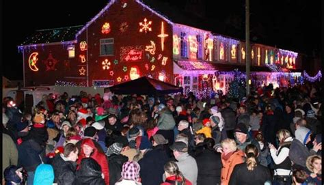 byron road barton on sea christmas light switch on what