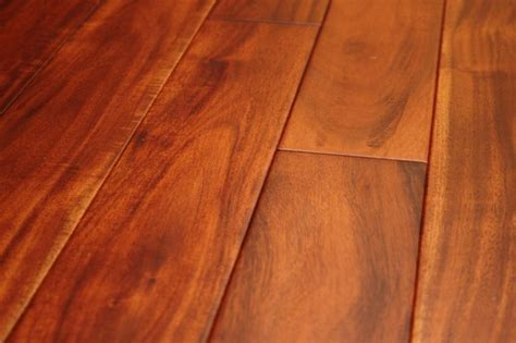 18mm mahogany stain acacia solid wood flooring the