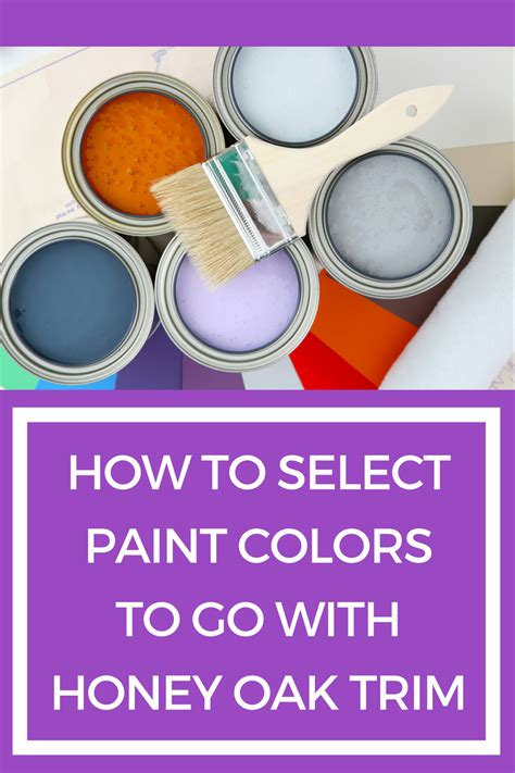 how to the right paint color to go with your honey