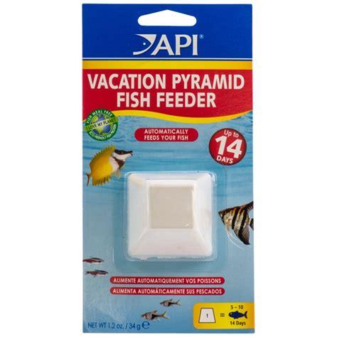 Vacation Fish Feeder api api 14 day vacation pyramid fish feeder fish vacation feeder blocks