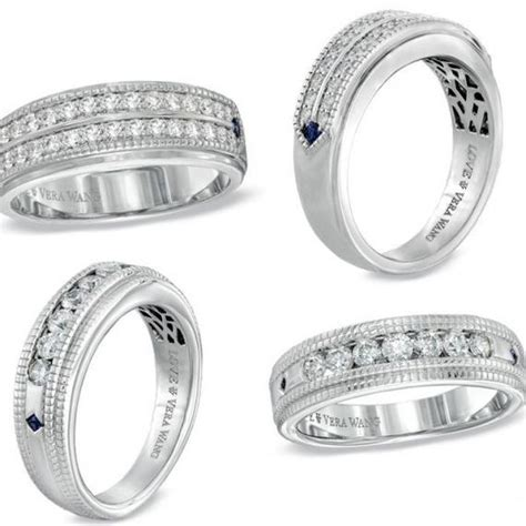 Wedding Bands Vera Wang by Vera Wang S Wedding Rings Wrsnh