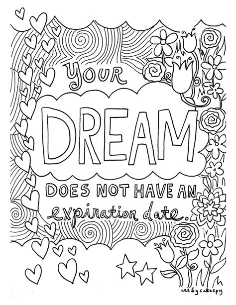 Serenity Home And Health Decor free coloring book pages for grown ups inspiring quotes