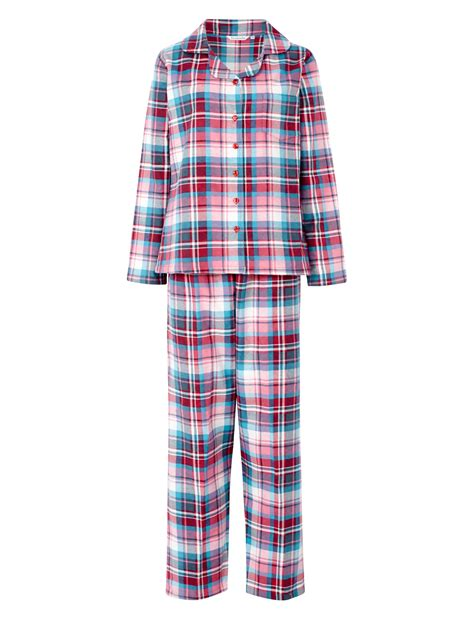 Washable Rugs Kitchen by Pyjamas Ladies Slenderella 100 Brushed Cotton Pjs Set