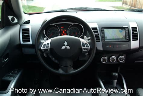 Mitsubishi Outlander 2007 Interior by 2007 Mitsubishi Outlander Review Cars Photos Test