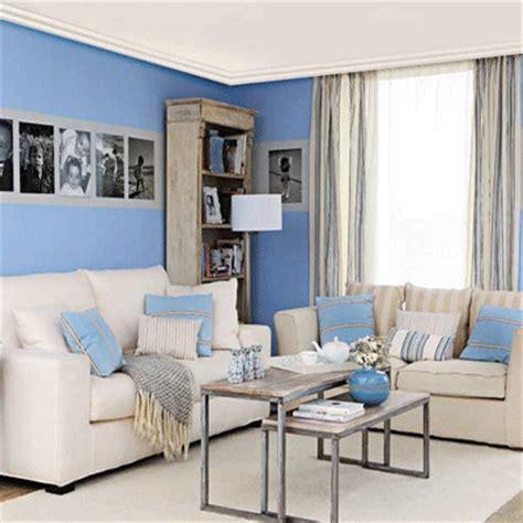 Blue Living Room Schemes Farbgestaltung F 252 R Optische Raumvergr 246 223 Erung Freshouse