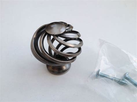 Kitchen Unit Knobs And Handles 5 For A Tenner 45mm Basket Weave Twist Knob Handle Kitchen