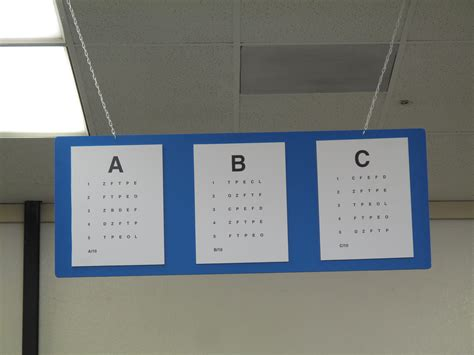 Printable Ca Dmv Eye Chart   dmv eye charts 105 365 flickr photo sharing