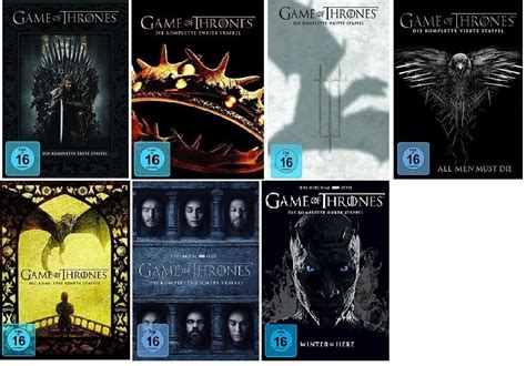 of thrones 1 5 die komplette staffel 1 2 3 4 5 dvd of thrones staffel 1 7 1 2 3 4 5 6 7 dvd set neu