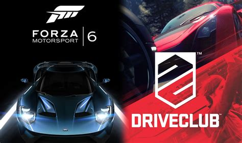 driveclub ps4 here s what the forza motorsport 6 annoucement might mean