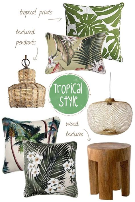 tropical decoration 17 best ideas about tropical style on pinterest tropical