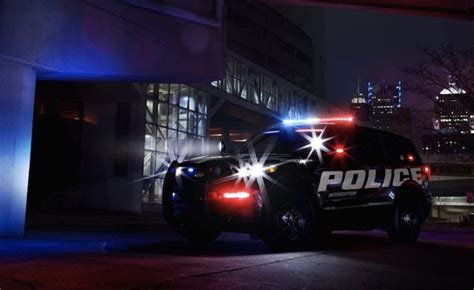 ford explorer hybrid shown  police car guise