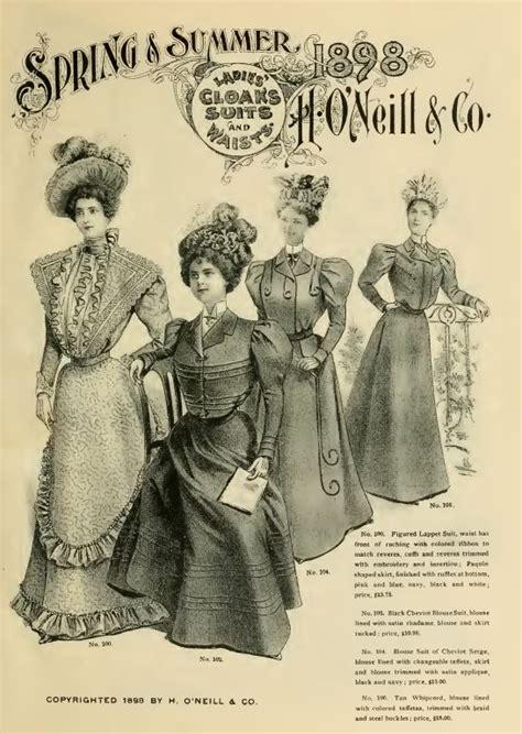 the history of american fashion vintage clothing catalogs