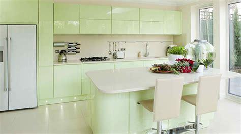 15 Pastel Green Kitchens for A Lighter Look   Home Design