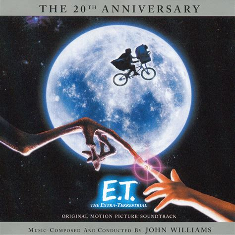 film et e t the extra terrestrial soundtrack cover