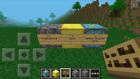 what pattern do you put the nether reactor in pattern for nether portal minecraft pocket edition how