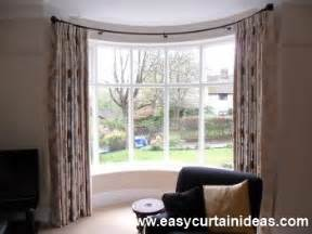 Simple Window Treatments For Large Windows Ideas Bow Window Curtains Bay Treatments For Curved Curtain Rod Home Best Free Home