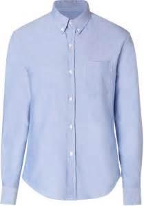 light blue button up shirt womens band of outsiders cotton button shirt in light blue
