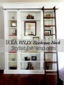 Ikea Billy Bookcase Corner Ikea Billy Bookcase Hack Stylish Revamp