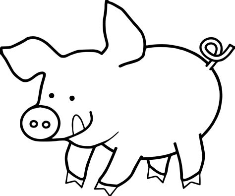 Coloring Page Pig by New Pig Coloring Pages Gallery Printable