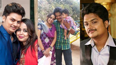 zee telugu heroine family photos raja rani serial sanjay family photos serial actor